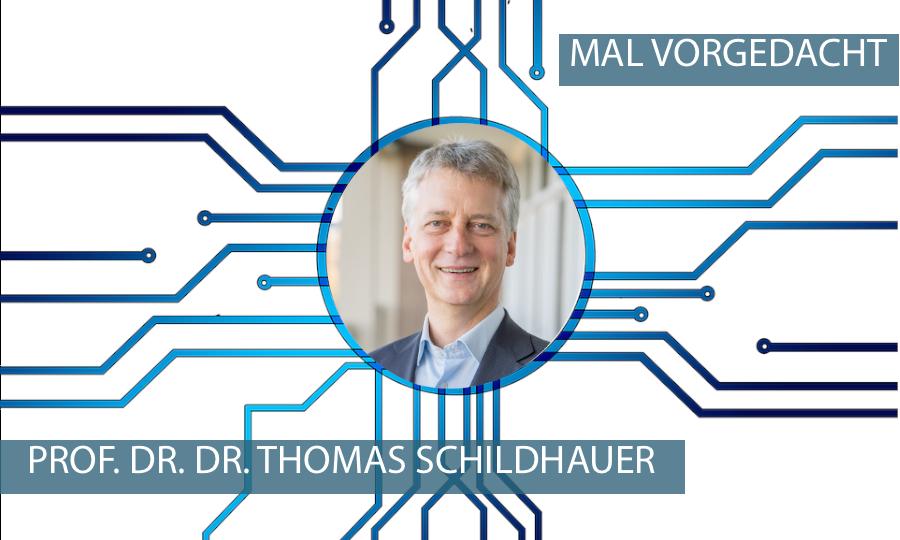 MAL VORGEDACHT mit Prof. Dr. Dr. Thomas Schildhauer